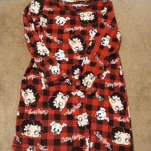 Betty boop fleece nightgown